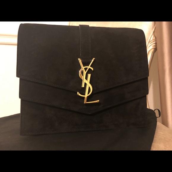 0d289495fb4 Saint Laurent Bags | Sulpice Medium Bag In Suede Leather | Poshmark